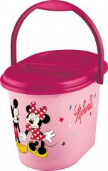 Koš na pleny Mickey&Minnie, Růžová