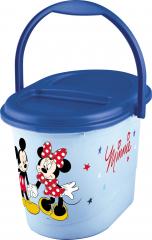 Koš na pleny Mickey&Minnie, Modrá