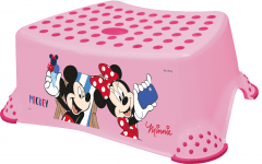 Stupínek k WC/umyvadlu Mickey&Minnie, Pink