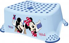Stupínek k WC/umyvadlu Mickey&Minnie, Blue