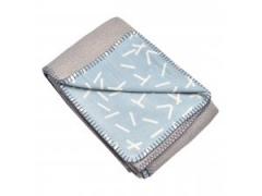 LODGER Dreamer Flannel/Honeycomb Steel Grey 110x140 cm