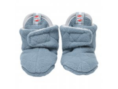 LODGER Slipper Fleece Scandinavian Ocean 3-6 měsíců