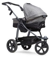 Mono combi pushchair - air chamber wheel prem. grey