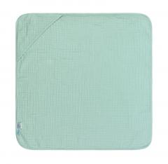 Muslin Hooded Towel mint