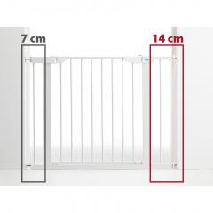 Bezpečnostní zábrana - rozšíření bílá 14 cm