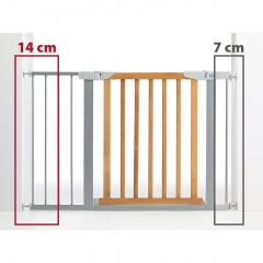 Bezpečnostní zábrana - rozšíření šedá 14 cm