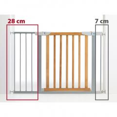 Bezpečnostní zábrana - rozšíření šedá 28 cm