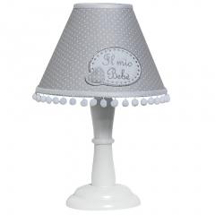 Stolní lampa CHEESECAKE, šedá