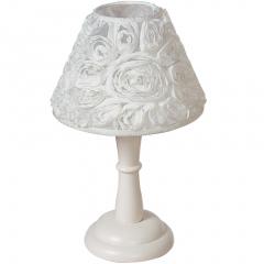 Stolní lampa FLORA, krémová