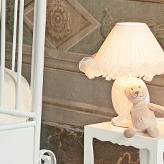 Stolní lampa s dekorací, ALINA
