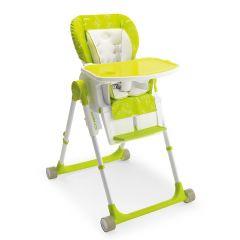 Vysoká židlička Chef, zelená, oranžová, písková